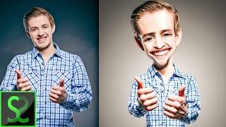 getlinkyoutube.com-How to make Body Caricature from photo | Photoshop tutorial