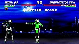 getlinkyoutube.com-Mortal Kombat Project 4.1 - Cyborg Reptile playthrough