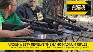 getlinkyoutube.com-Gamo Magnum .177 and .22 FULL REVIEW – AirgunWebTV Special Feature!