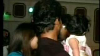 getlinkyoutube.com-Vijay in Ajith Daughter Birthday mout