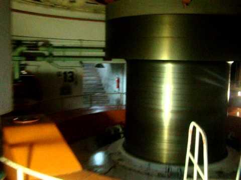 Eixo de gerador - Itaipu