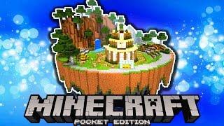 getlinkyoutube.com-Minecraft EINZIGARTIGE Fliegende REDSTONE Insel - MCPE