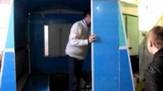 getlinkyoutube.com-Мобильный дом (прицеп-трансформер)
