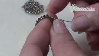getlinkyoutube.com-Come incastonare una goccia | Tecnica - HobbyPerline.com