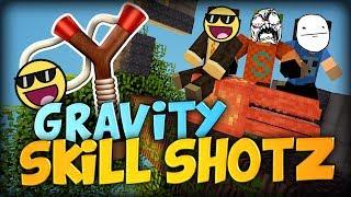 getlinkyoutube.com-Gravity Skillshots Calculated TNT Troll (Jungle Slingshots) -  Minecraft Starminer Mod Parkour