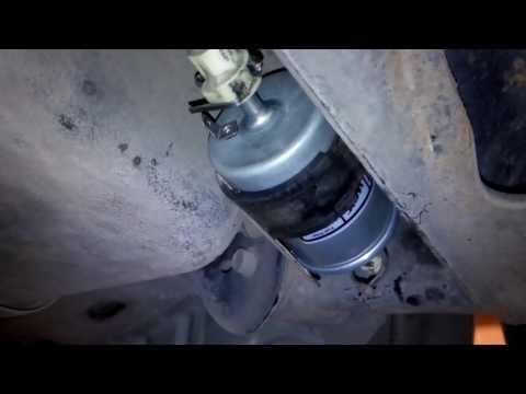 Замена топливного фильтра Шевроле Авео (Chevrolet Aveo)