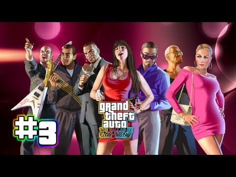 Let's Play GTA: The Ballad of Gay Tony Part 3: Corner Kids [BLIND/100%] (German)