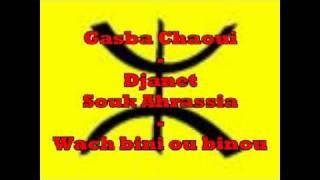 getlinkyoutube.com-Gasba chaoui - Djanet Souk Ahrassia - wach bini ou binou
