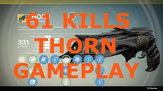 getlinkyoutube.com-Destiny PvP: 61 kills on Control (Thorn/Final Boss/Corrective Measure)