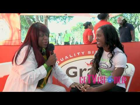 Shelly-Ann Fraser-Pryce - Get Visioned TV  Interview