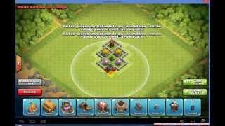 getlinkyoutube.com-Clash of clan (hdv 3 ) village farming