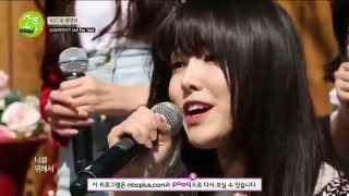 getlinkyoutube.com-150409 Picnic Live 소풍 여자친구 Gfriend & 신유 - All for you