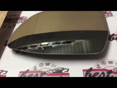 Стекло зеркала (зеркальный элемент) левое BMW X5 F15/F85/X6 F16/F86