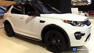 getlinkyoutube.com-2017 Land Rover Discovery Sport HSE Luxury - Exterior, Interior Walkaround - 2017 Montreal Auto Show