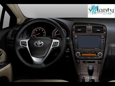 How to remove steering wheel + AIRBAG Toyota Avensis mk3 2009-13 - Dr.VOLANT