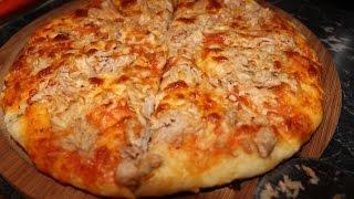getlinkyoutube.com-Pizza à la poele - Pan Pizza
