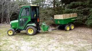 getlinkyoutube.com-John Deere 17P Tandem Dump Cart