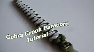 getlinkyoutube.com-Cobra Crook Paracord Bracelet Tutorial