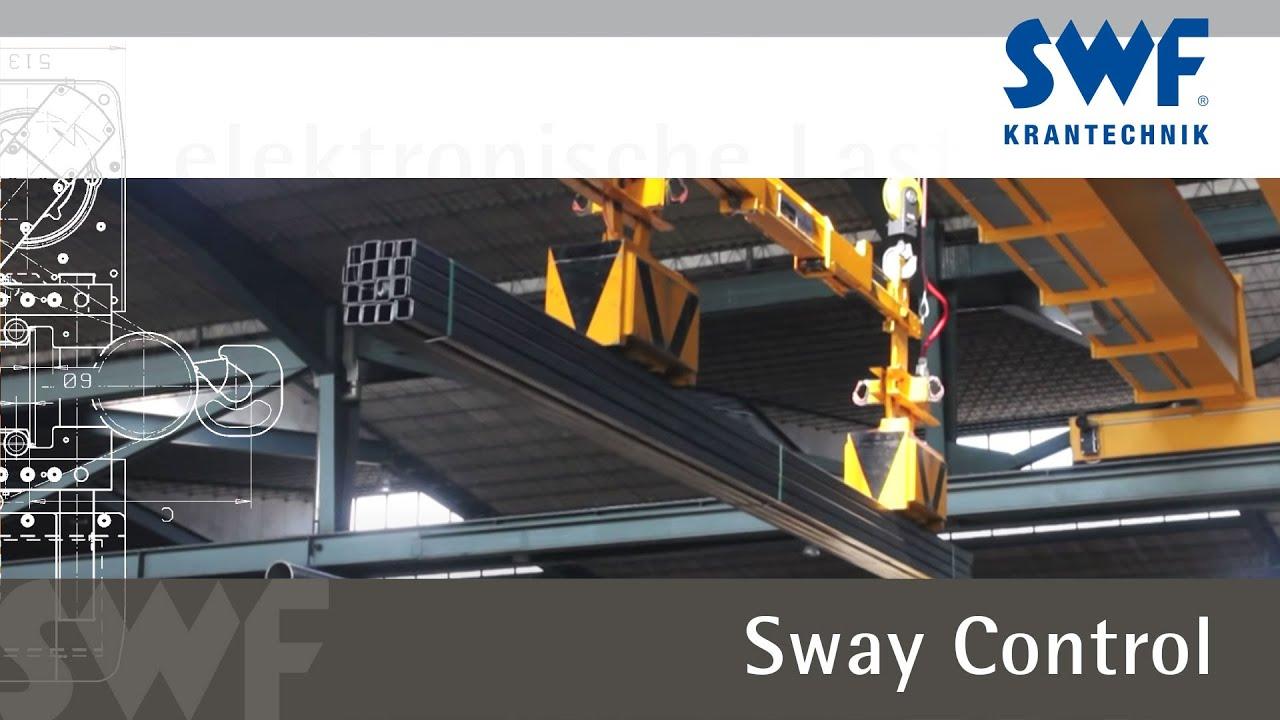 SWF Krantechnik - Lastpendeldämpfung - Sway Control