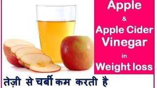 सेब के सिरके: तेज़ी से चर्बी कम करें   Quick Weight loss with Apple & Apple Cider Vinegar  