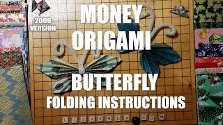 getlinkyoutube.com-Origami Money Butterfly Instructions