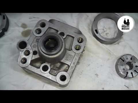 Nissan Primera P12. QG16-18DE. Попытка ремонта насоса ГУРа ч.2. Сборка.