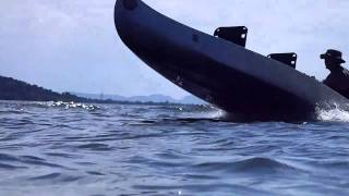 getlinkyoutube.com-canoe with 6hp outboard at inks lake