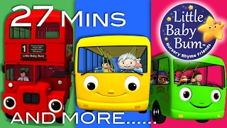 getlinkyoutube.com-Wheels On The Bus | All the videos! | 27 Minutes Compilation from LittleBabyBum!
