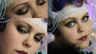 getlinkyoutube.com-(Authentic) 1920's Make-up Tutorial