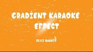 getlinkyoutube.com-[Aegisub] Gradient Karaoke Effect [Tutorial]