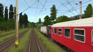 getlinkyoutube.com-M300 InterRegio 1622 Brasov - Bucuresti Trainz 2010 RELOADED