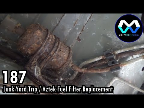 MV 187 - 'Junk Yard Trip Fuel Filter Replacement