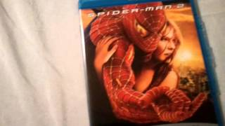 Spider-Man 2 and 2.1 (2004) - Blu Ray Review and Unboxing width=