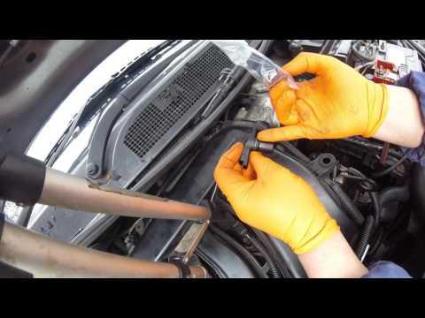 Часть 13,замена датчика распредвала Renault Megane/Part 13, replacement of the camshaft sensor