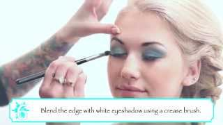 getlinkyoutube.com-Tutoriel maquillage Elsa, la Reine des Neiges.