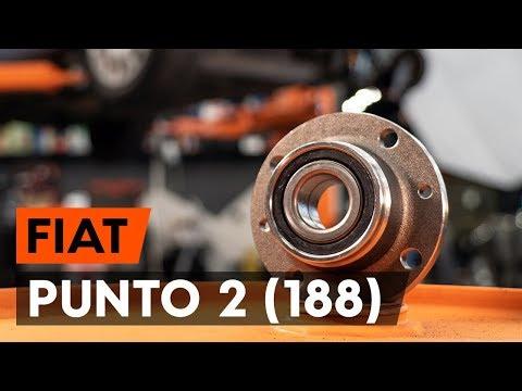 Как заменить подшипник ступицы заднего колеса на FIAT PUNTO 2 (188) (ВИДЕОУРОК AUTODOC)