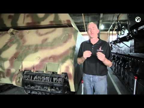 Загляни в реальный танк Маус гигантская бронемышь 'В командирской рубке' LD