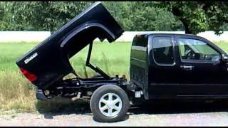 getlinkyoutube.com-Isuzu D-Max Pick Up Single and Double Cab Ribaltabile Tipper Kipper Bennes Volcador