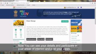 How to use mygov.nic.in – Help Video
