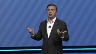 getlinkyoutube.com-Nissan Keynote Address at CES 2017