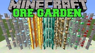 Minecraft: ORE GARDEN (GROW ORES AND OTHER ITEMS!) Mod Showcase
