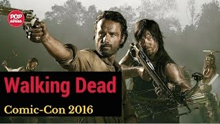 SDCC 2016: elenco de The Walking Dead