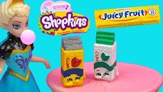 getlinkyoutube.com-Custom Shopkins Season 2  Wrigleys Juicy Fruit Bubble Yummy Gum DIY Painted Craft Toy
