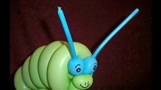 getlinkyoutube.com-CUTE CATERPILLAR BALLOON HOW TO - Balloon Animal