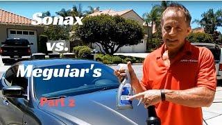 getlinkyoutube.com-Sonax vs  Meguiar's: part 2 of Darren's Review