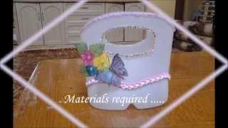 getlinkyoutube.com-Best out of waste plastic basket