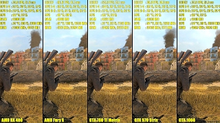 getlinkyoutube.com-Sniper Elite 4 DX12 GTX 1060 Vs GTX 970 Vs GTX 780 TI Vs AMD RX 480 Vs AMD Fury X FPS Comparison