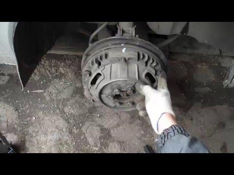 Замена тормозных колодок таврия славута