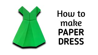 getlinkyoutube.com-How to make an origami paper dress - 1 | Origami / Paper Folding Craft, Videos and Tutorials.