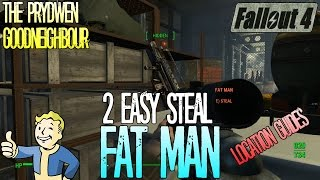 getlinkyoutube.com-Fallout 4 | 2 Easy Steal | Fat Man | Location Guides | Tips and Tricks